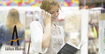 Como Conquistar O Mercado Local Literário Mulher Lendo Livro