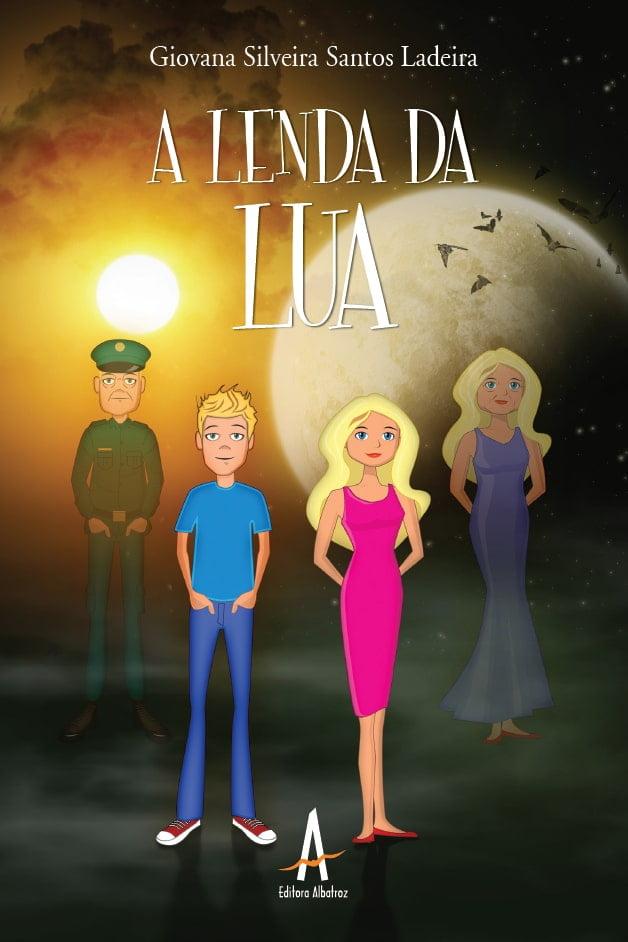 livro infantil A Lenda da Lua infanto-juvenil editora albatroz publicação como publicar seu livro meu publique seu livro como publicar meu livro