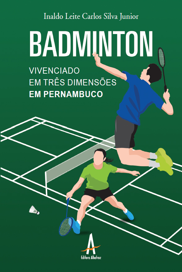 badminton livro publicação pernambuco esporte raquete editora albatroz publicação como publicar seu livro meu publique seu livro como publicar meu livro