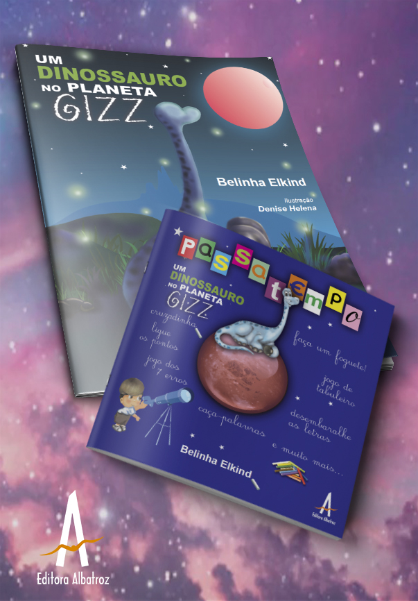 livro infantil passatempo dinossauro belinha elkind editora albatroz